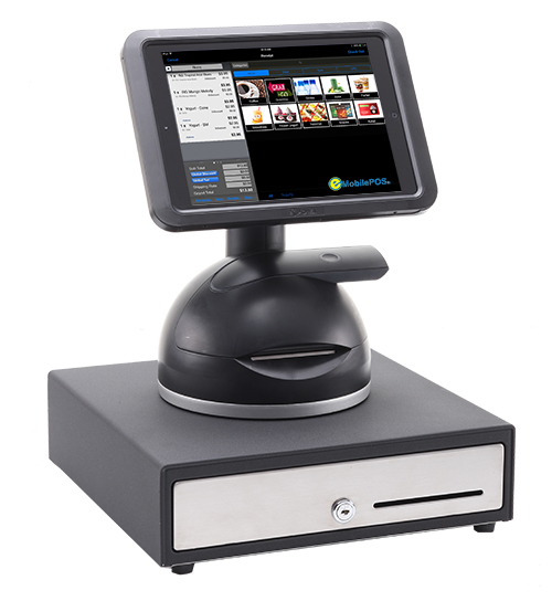 Cash Drawer Food Truck With Ipad Stand