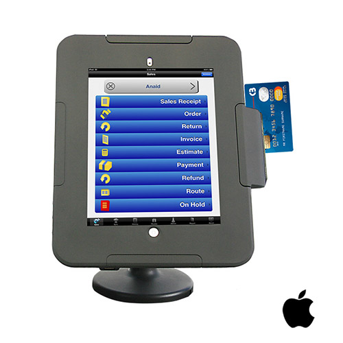 nClose Enclosure and Mount for iPad POS