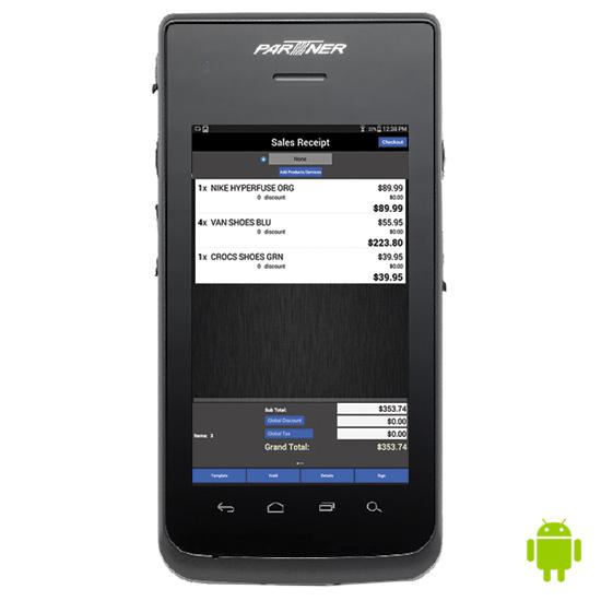 PartnerTech OT-310 Android Handheld POS